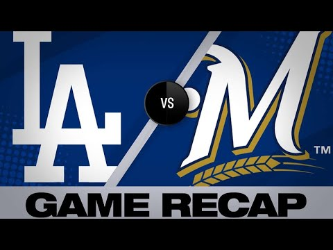 Bellinger robs Yelich, hits go-ahead HR in 9th - 4/21/19