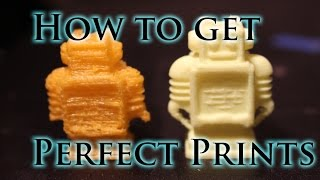 How to Find the Perfect Print Settings For Your 3D Printer(In this video I show you how to get the perfect print settings for your new printer or filament, enjoy! All music was used with permission from the creator and is ..., 2016-02-07T19:57:20.000Z)