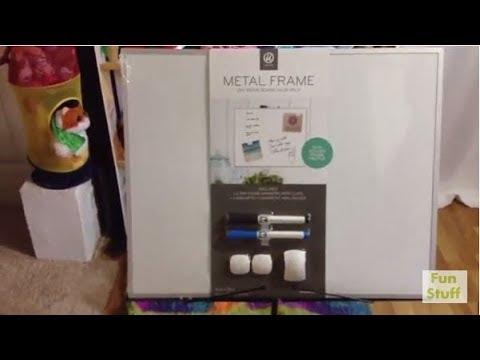 Review of U-Brands Metal Frame Dry Erase Board 16\