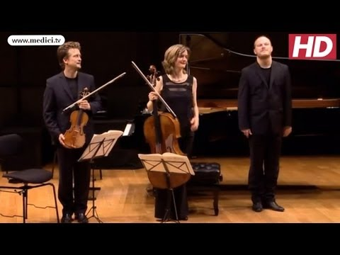 Christian Tetzlaff - Brahms, Trio for violin, cello and piano in F major, Op. 8