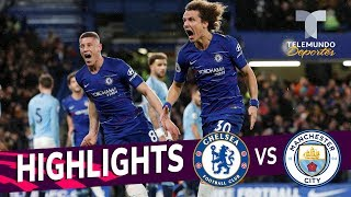 Chelsea vs. Manchester City: 2-0 Goals & Highlights | Premier League | Telemundo Deportes