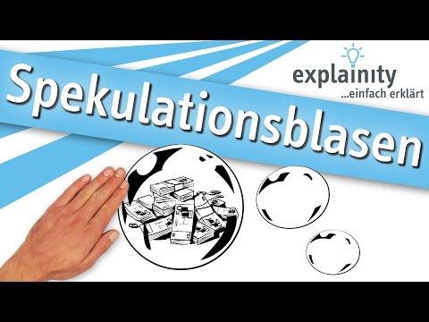 Spekulationsblasen einfach erklärt (explainity® Erklärvideo)