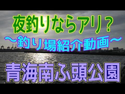 釣り場紹介 その10(青海南ふ頭公園)+宣伝