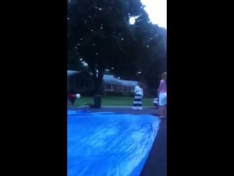 lippincott blue tarp surfing