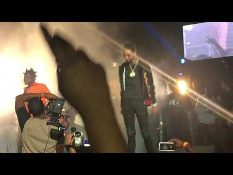 Kodak Black & PNB Rock - Too Many Years (Live at Watsco Center in Miami,FL on 8/10/2017)