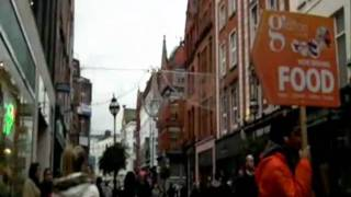 Rebecca Nelson in Grafton St. Dublin
