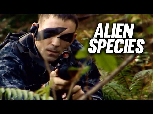 Alien Species - Predator Attack (ACTION   ganze Horrorfilme in voller Länge auf Deutsch anschauen)