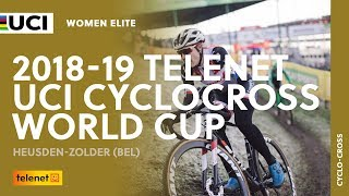 2018-2019 Telenet UCI Cyclocross World Cup - Heusden-Zolder (BEL) / Women Elite