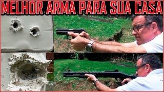 Qual a Melhor Arma e Munição para Defender sua Casa -  (Calibre 12, Pistola ou Revolver)