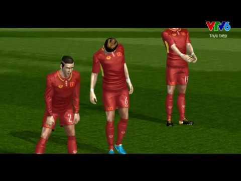 Cách tải game bóng đá FTS 2018 mod Việt hóa có đội tuyển U23 Việt Nam và đội tuyển Việt Nam