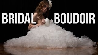 Bridal Boudoir Photography Tips - No great location, hotel or studio nor lighting gear required