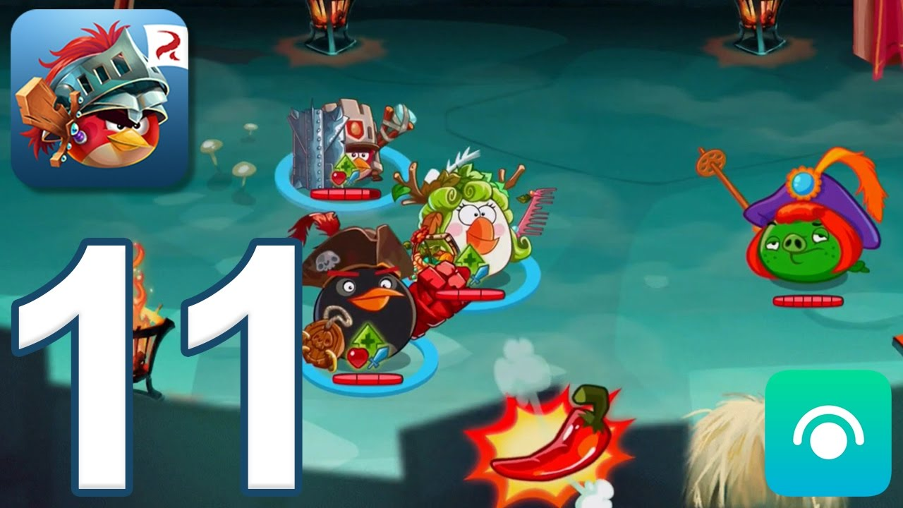 Angry Birds Epic RPG - Gameplay Walkthrough Part 11 - Desert Island (iOS, Android)