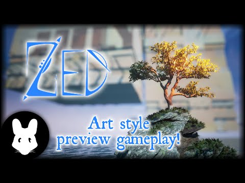 Zed - Art style preview gameplay!