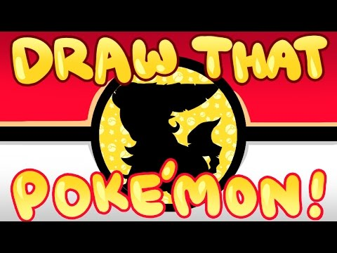 Draw That Pokemon! #470 Leafeon!