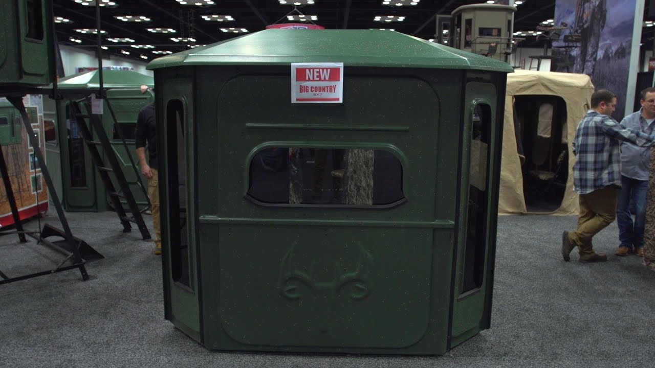 Redneck Big Country 6x7 Hunting Blind Bliss New Youtube