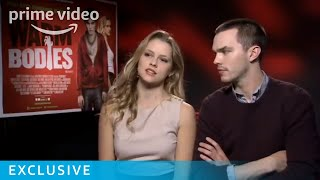 Download Video Nicholas Hoult and Teresa Palmer Warm Bodies interview | Prime Video MP3 3GP MP4