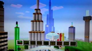 BURJ KHALIFA/Minecraft PS3