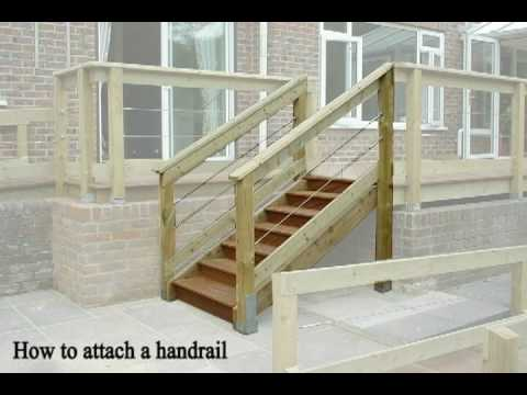 Decking: How to Design & Build Decking Steps & Stairs - YouTube