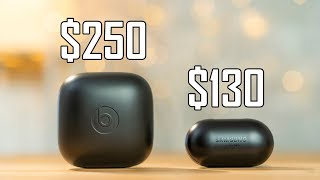 Powerbeats Pro vs Galaxy Buds - Worth $120 More?