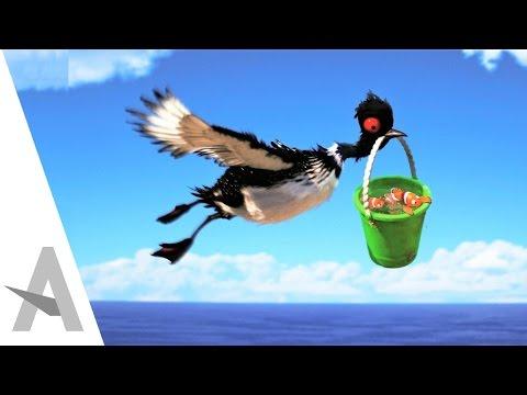 Becky FUNNY SCENES - Finding Dory I Disney Animated Movie (HD)