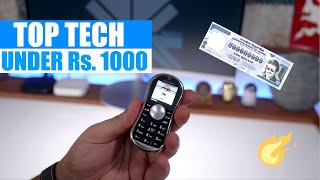 Top 10 Tech Gear and Gadgets Under Rs. 1000 iGyaan Budget Shopping