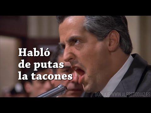"""""""Habló de putas la tacones"""" feat Stallone"""