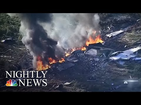US Marines Corps KC-130 Crashes In Mississippi | NBC Nightly News