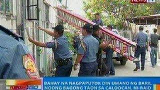 NTG: Bahay malapit sa Pamilya Ella na nagpaputok din umano ng baril noong bagong taon, ni-raid