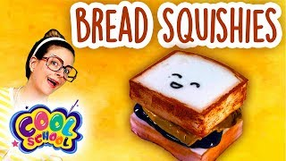 Bread Squishy DIY! How to Make a Squishy! Kawaii DIY | Arts and Crafts with Crafty Carol
