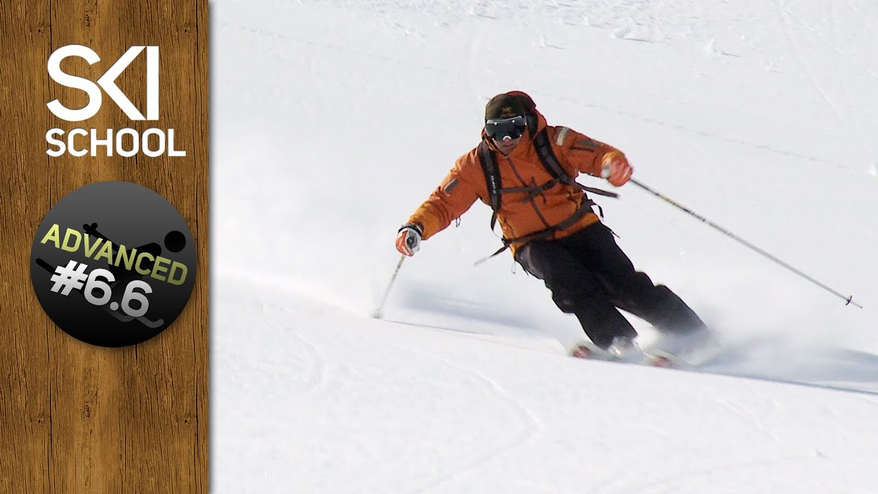How To Ski Powder - Advanced Ski Lesson #6.6 - YouTube