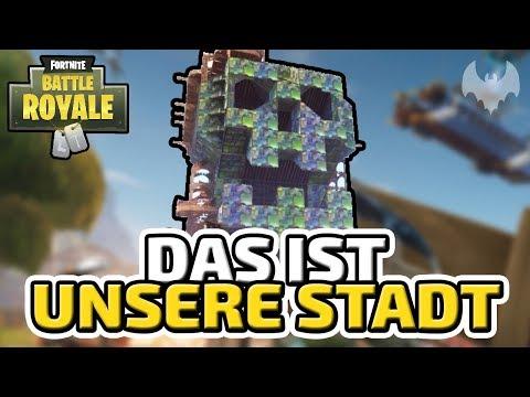 Das ist unsere Stadt - ♠ Fortnite Battle Royale ♠ - Deutsch German - Dhalucard