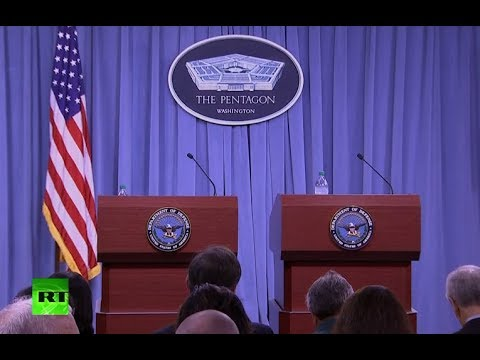 Pentagon briefs press on situation in Syria