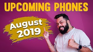 Top 10 Best Upcoming Mobile Phones in August 2019 ⚡⚡⚡