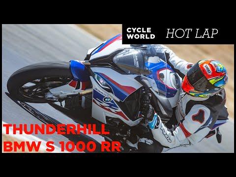 2020 BMW S 1000 RR Hot Lap At Thunderhill Raceway Park