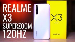 Realme X3 Superzoom ЛУЧШИЙ IPS 120Hz дисплей, Snap 855+ Обзор