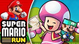 ¡Toadette y Luigi contra vosotros! - Super Mario Run