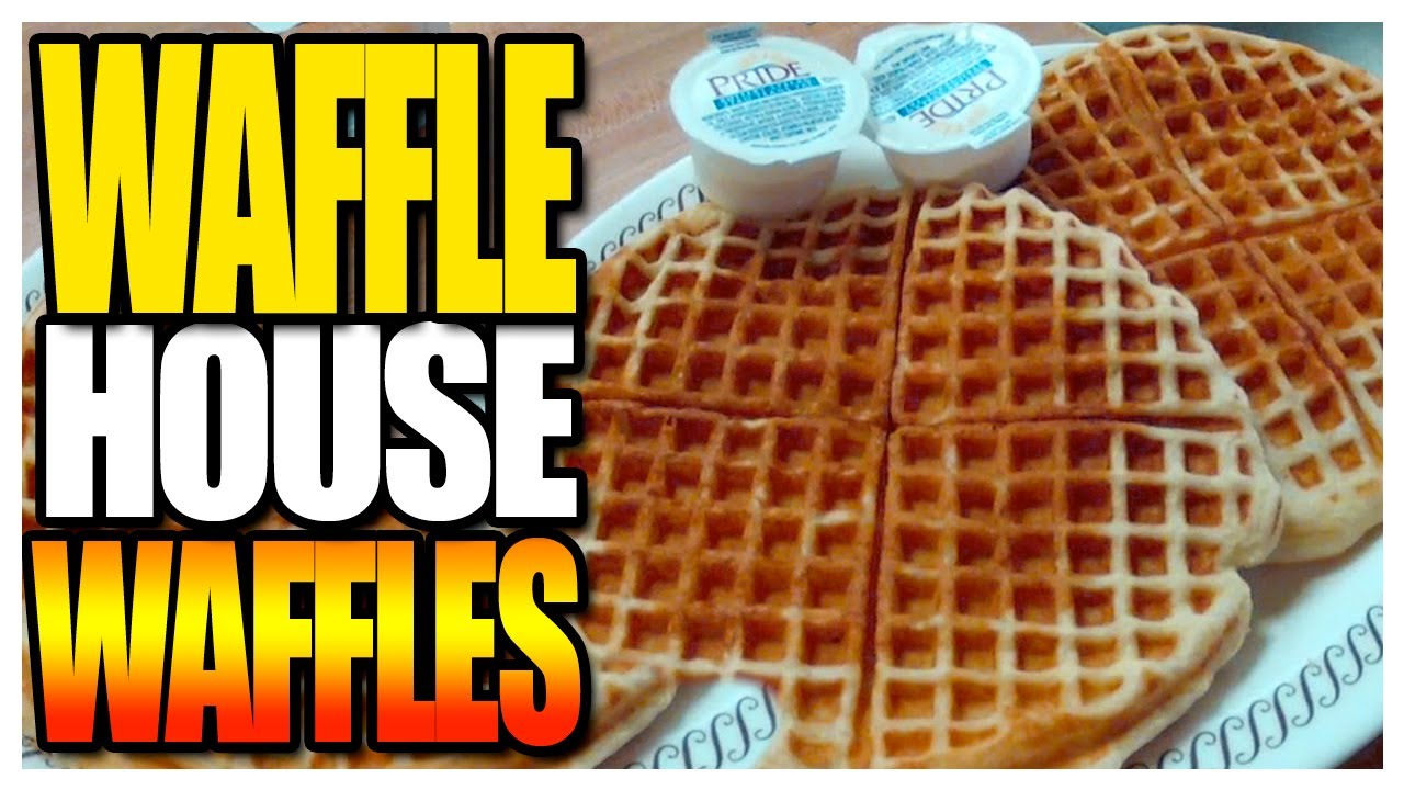 Charming Waffle House Waffle Taste Test