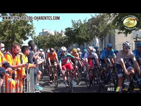 Départ de la 2e étape du Tour Poitou-Charentes en Nouvelle-Aquitaine 2021 à Parthenay