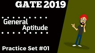 GATE 2019 Most Expected Questions| Online Mock Test 1 - General Aptitude for GATE 2019 - By PhysBoy