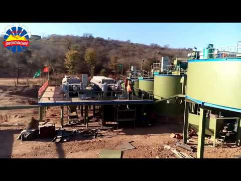 Gold CIL plant installation in Zimbabwe