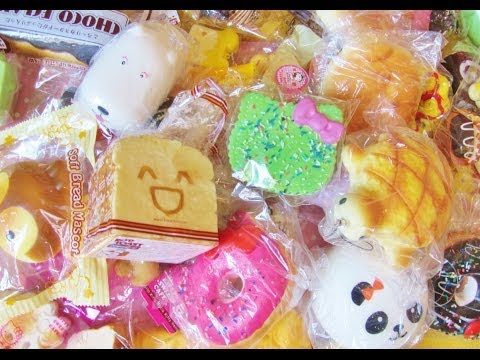 Squishy Haul From China : SQUISHY HAUL 9/15 [KAWAII-LAND] FunnyCat.TV