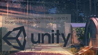 Создаем визуальную новеллу в Unity3D 5 [Урок 1] - База, Диалоги