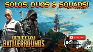 PUBG Weekend Rumble! Let the hunt begin.....