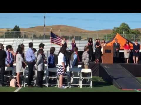 Iron Horse Middle School Class 2017 - National Anthem
