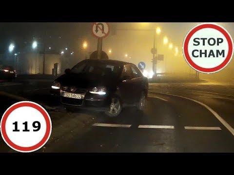 Stop Cham #119 – Niebezpieczne i chamskie sytuacje na drogach
