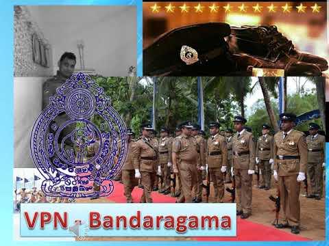 Sri Lanka Police song - 2018