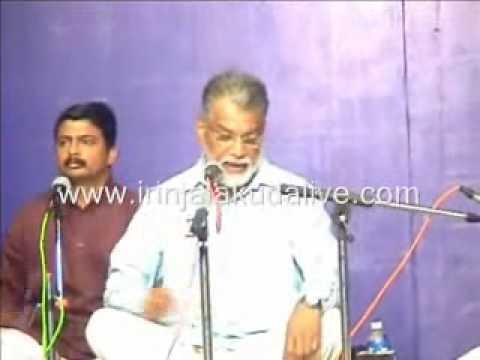 Sangeetha Kacheri by ISRO Chairman K Radhakrishnan at Koodalmanikyam Temple