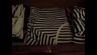 Bedroom Dresser Drawer Organization
