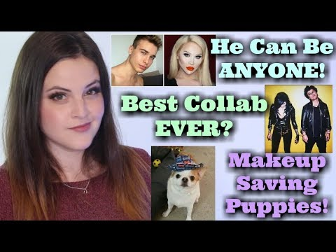 What's Up in Makeup NEWS! The Human Transformer! Kat Von D Collabs w/Green Day! Clover Saves Puppies