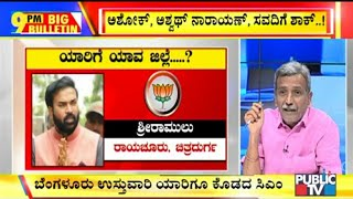Big Bulletin | CM Yeddyurappa Appoints District In-charge Ministers | HR Ranganath | Sep 16, 2019